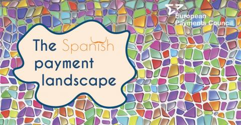 EPC infographic on the Spanish payment landscape